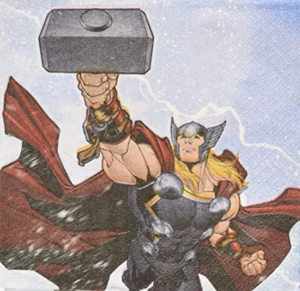 Amazon.com: 16 Marvel Epic Avengers Superhero Fiesta de ...