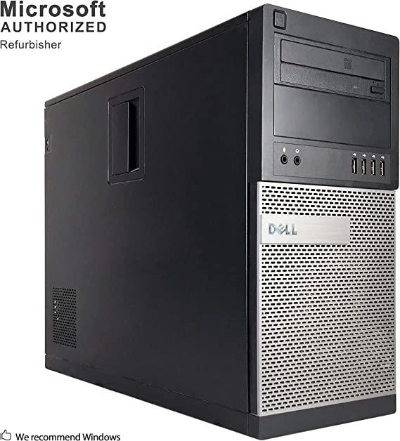 Dell Optiplex 990 Desktop Computer (Intel Quad-Core i7-2600 up to 3.4GHz