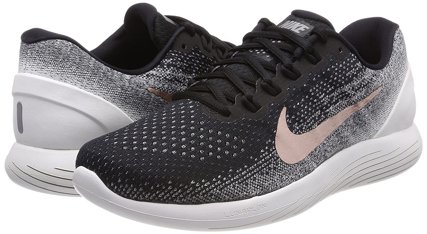 Enderezar sobre lluvia  Nike Lunarglide 9 X-Plore Mens Running Trainers 904745 Sneakers Shoes (UK  9.5 US 10.5 EU 44.5, Black Metallic red Bronze 001): Amazon.in: Shoes &  Handbags