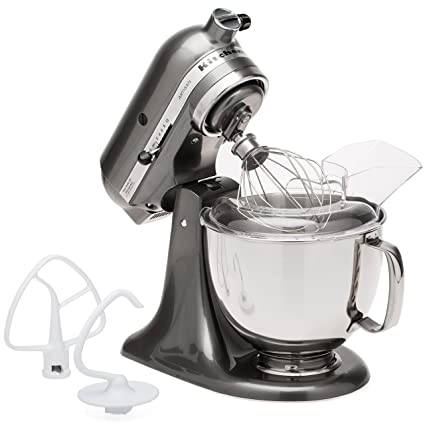 KitchenAid Artisan Series Stand Mixer With Pouring Shield, 5 Qt., Liquid  Graphite