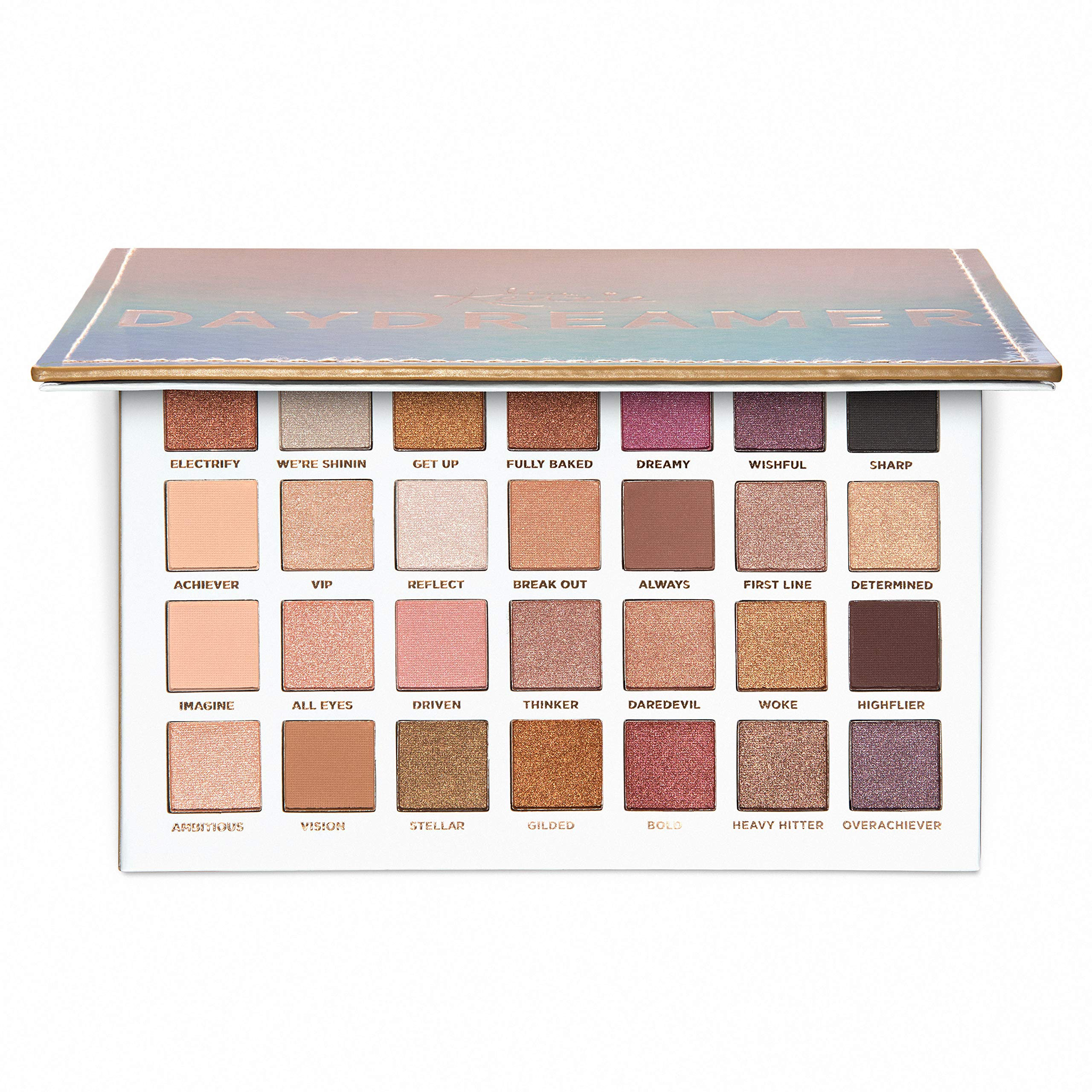 Love, Kenzie Beauty by Mackenzie Ziegler - Girls Cosmetics - Daydreamer Eyeshadow Palette - 28 Matte, Metallic, and Shimmer Shades