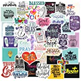 Christian Stickers Big 40-Pack. Religious