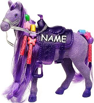2 Pferde Plastik Pferd Plastikpferd Barbie 1980er | Barbie