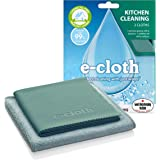 E-cloth Kitchen Cloth Bathroom Cleaning Cloth Twin Pack