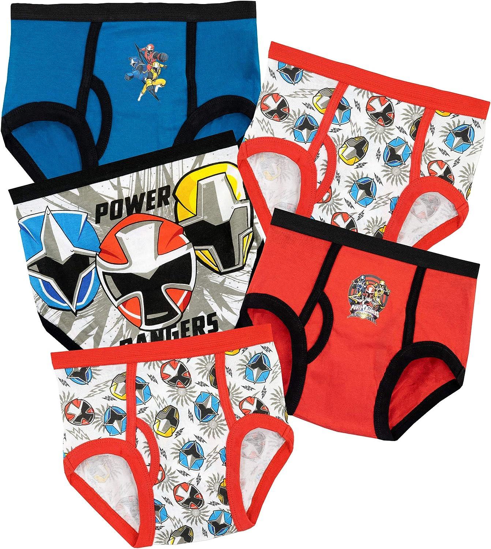 Power Rangers Boys Briefs Pack of 5