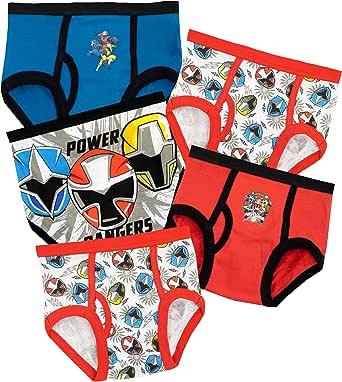 Power Rangers Ropa Interior para niños
