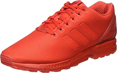 civilización Búsqueda Villano  Adidas Men's Zx Flux Training Running Shoes, Red (Red/Red/Red), 7 ...