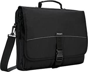 Targus Basic Messenger Case and Bag Designed for 15.6-Inch Laptop, Black (TCM004US)