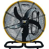 """Caterpillar HVODF-18S : 18"""" Oscillation Floor Fan Black"""