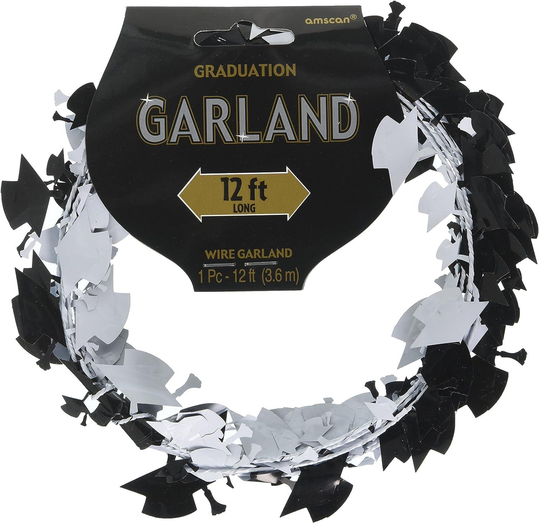 Graduation Cap Garland 12ft