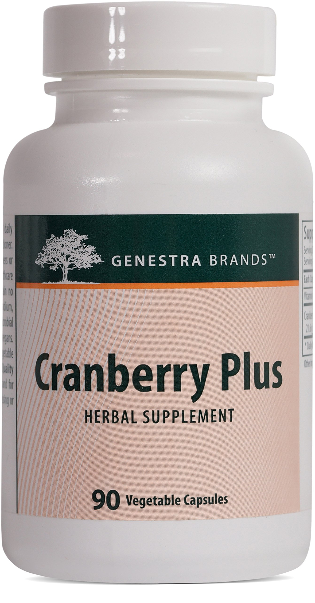 Genestra Brands - Cranberry Plus - Support for Urinary Tract Health* - 90 Vegetable Capsules