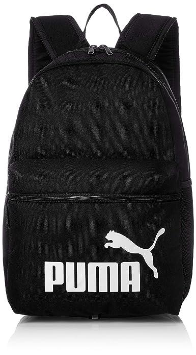 63c4ccfbfb42 Puma 22 Ltrs Black School Backpack (7548701)  Amazon.in  Bags ...