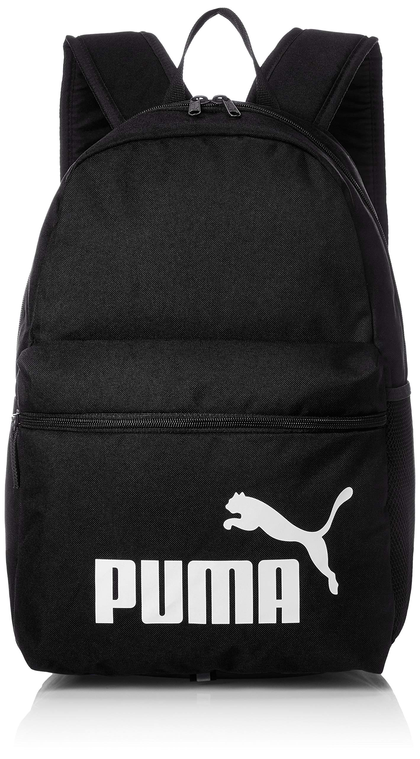 PUMA Phase Backpack Laptop shool sports 758487 01 black, color:black