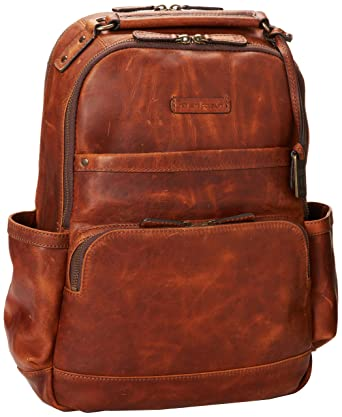 a08e440c1dbd Amazon.com  FRYE Logan Backpack Backpack Cognac Antique Pull Up One ...