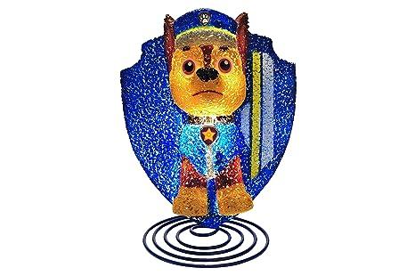 Amazon Nickelodeon Paw Patrol Marshall Figural Lamp Blue Toys