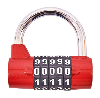 65817e55437b Amtech T1144 5-Digit Combination Padlock: Amazon.co.uk: DIY & Tools