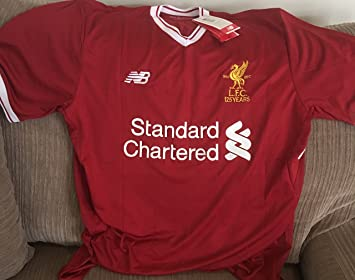 best service fcd34 8a53f Liverpool FC LFC Mens Replica Home Shirt 17/18 Official