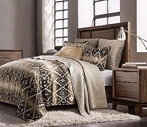 HiEnd Accents Chalet Comforter Set, King, Multi