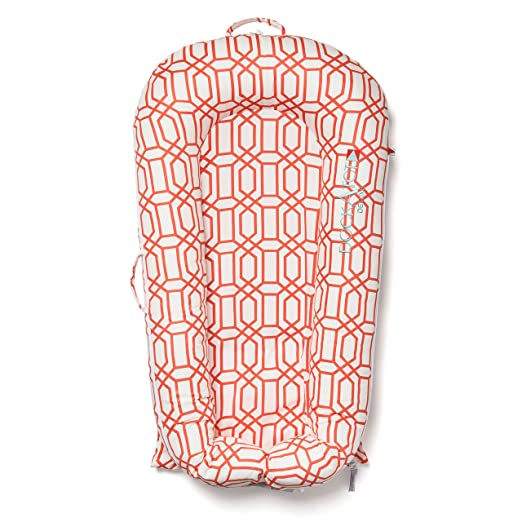 Amazon.com : DISCONTINUED (Old Version) - DockATot Deluxe Dock (Coral Trellis) : Baby