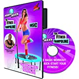 PowerMaxx VITALmaxx 00148 Trainings DVD for Fitness Trampoline Basic | Workout DVD | Fitness DVD
