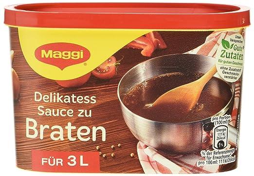 Maggi delikatess salsas asados, 6 pack (6 x 3 L lata)