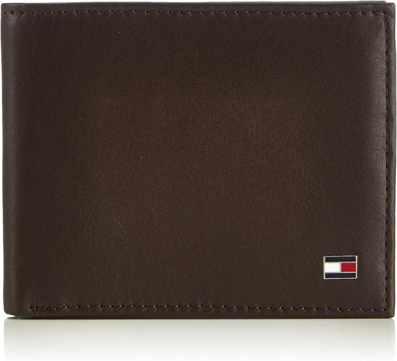 Tommy Hilfiger Eton Mini Cc Wallet, Cartera para Hombre, 11x9x2 cm (B x H x T)