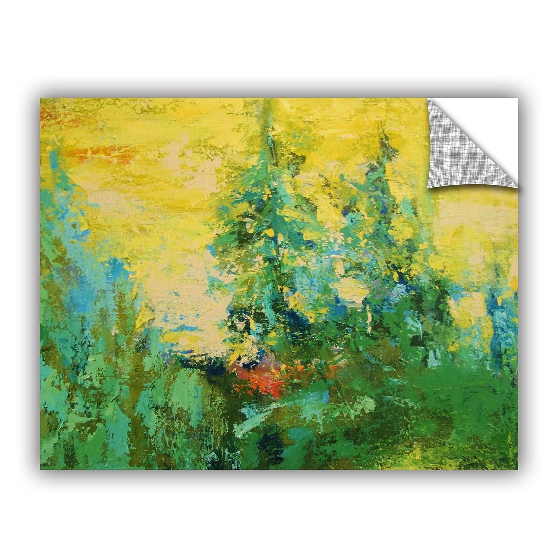 14 x 18 ArtWall 0gra022a1418p Daniel Grays Blue Spruce Removable Wall Art Mural