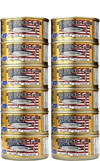 product image for American Tuna MSC Certified Sustainable Pole & Line Caught Albacore Tuna, 6oz Can w/ Sea Salt, Caught & Canned in America (12 Pack)
