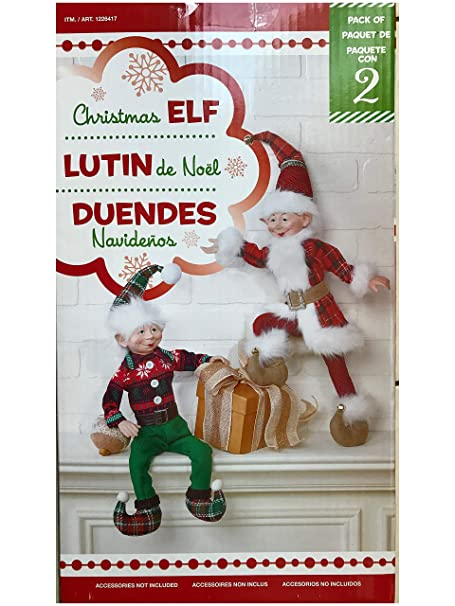 Christmas Elf - Pack of 2  Amazon.ca  Clothing   Accessories ef28a6097