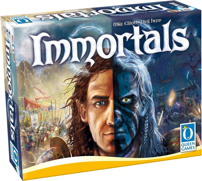 Queen Games 20175 – Immortals: Amazon.es: Juguetes y juegos
