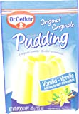 Dr. Oetker Vanilla Pudding, 1.5-Ounce, 3-Count Pouches (Pack of 10)