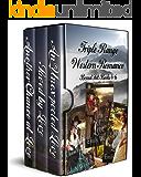 Triple Range Western Romance Boxed Set: Books 4 - 6