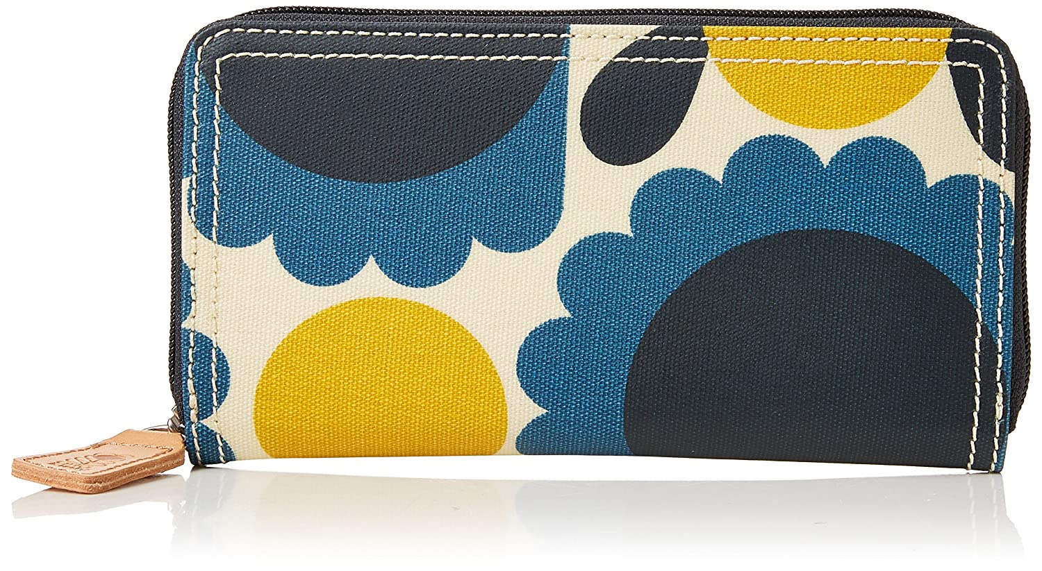 Orla Kiely Big Zip Wallet, Billetera para Mujer (Pack de 2)