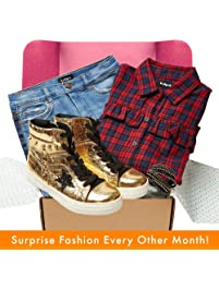 kidpik Fashion Kids Subscription Box - Personalized Outfits for Girls sizes 4-16. Fashion Clothing for Children