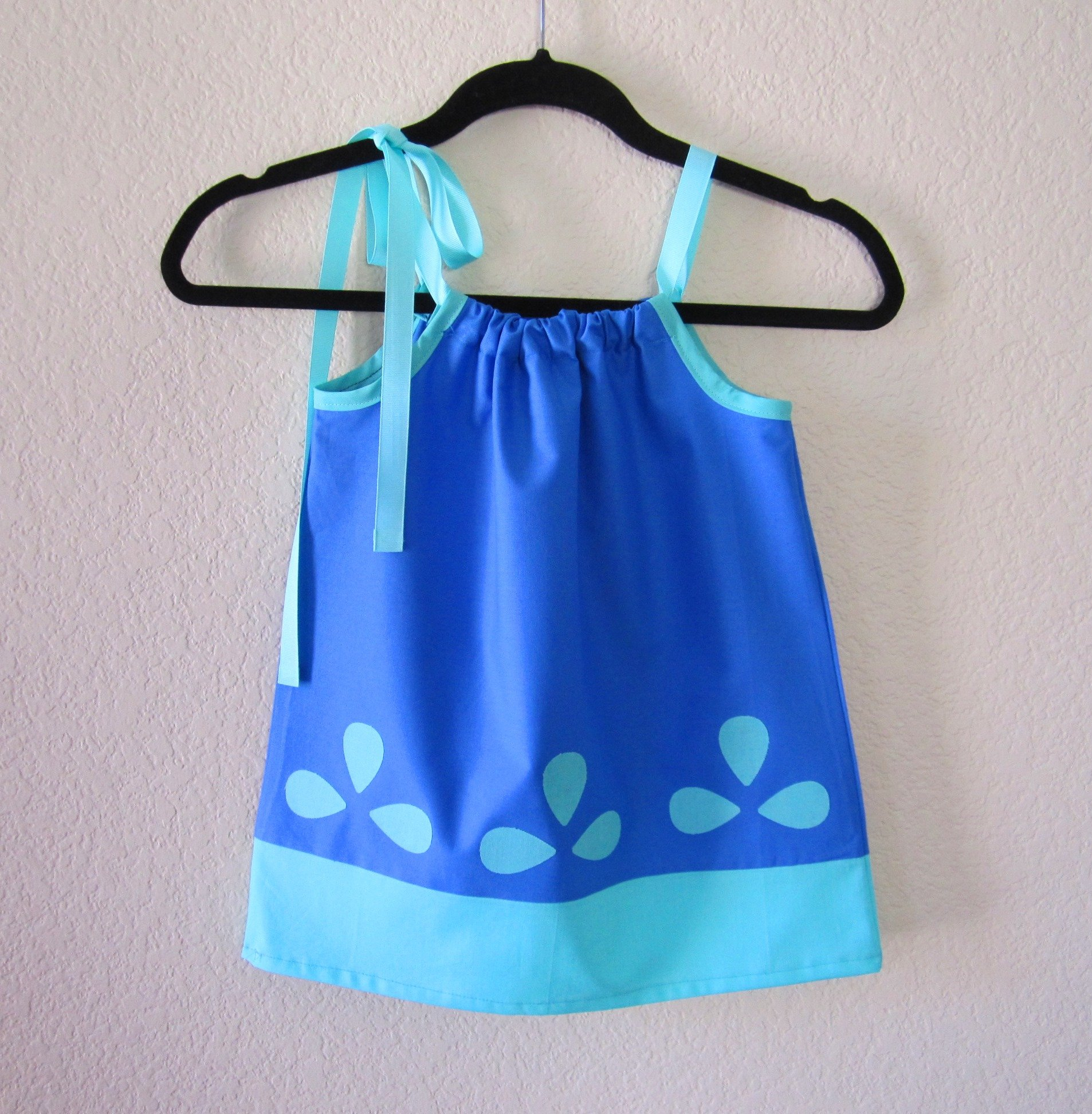 Princess Poppy Inspired Girls Dress