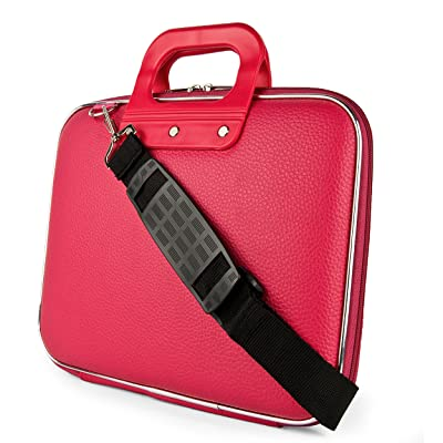 """70%OFF SumacLife Cady Collection Carrying Case for Dell Latitude 12.5 to 14"""" Laptops & Ultrabooks (Pink)"""