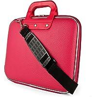 "SumacLife Magenta Nostalgic Cady Carrying Case Bag for Huawei MediaPad M5 , M5 Pro 10.8"" / T2 10 Pro / WaterPlay LTE / M3 Lite 10 / M2 10 / T3 10"