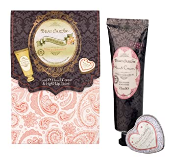 Beau Jardin Rose and Geranium Hand/ Lip Set: Amazon.ca: Beauty