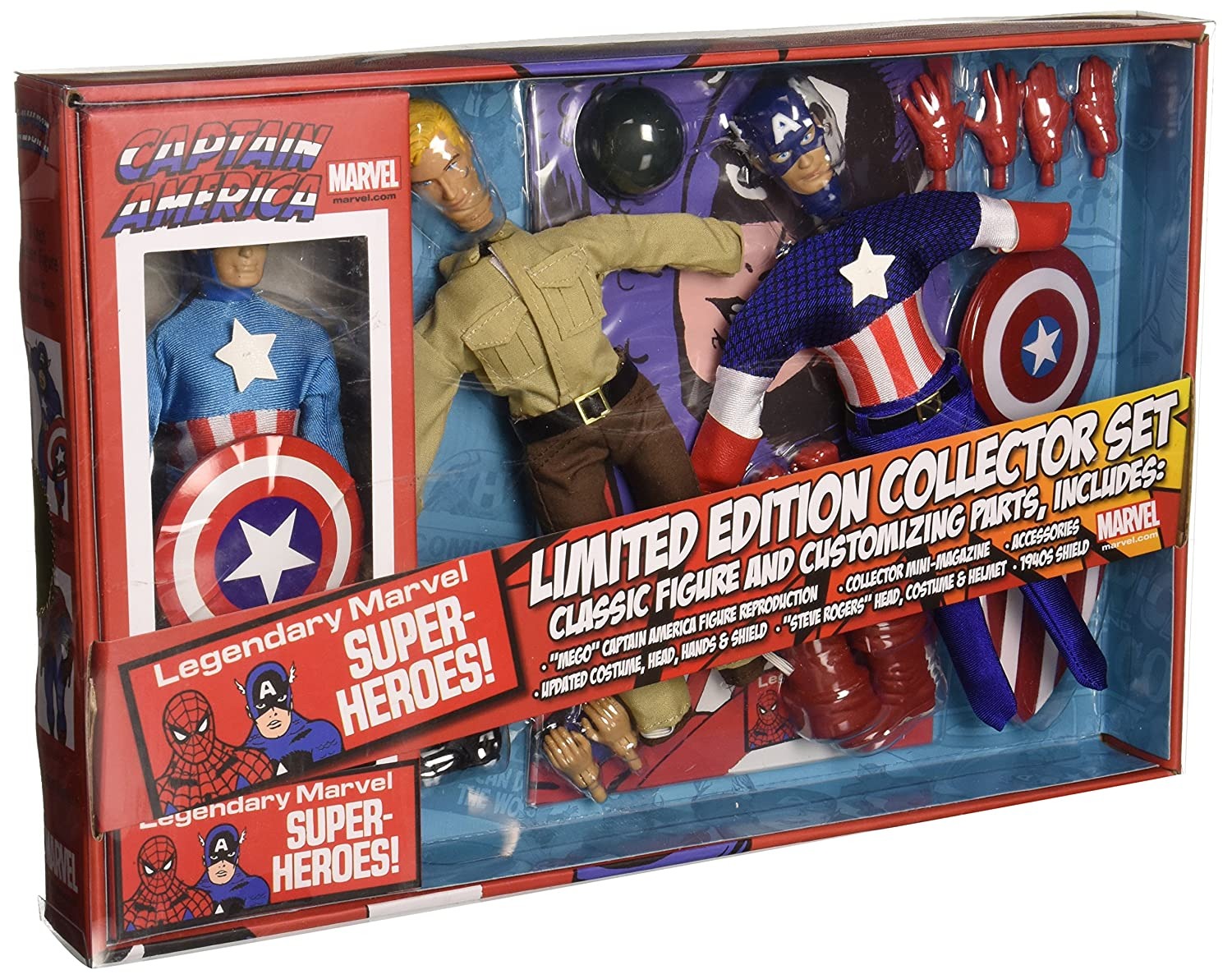 Marvel SEP142256 Captain America Toy, 8 inches