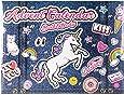 Einhorn Körperpflege Adventskalender - JEANS EDITION - Kosmetik Weihnachtskalender Unicorn