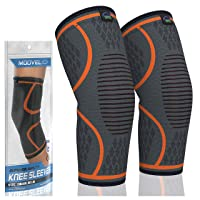 Deals on 2 Pack Modvel Knee Compression Sleeve