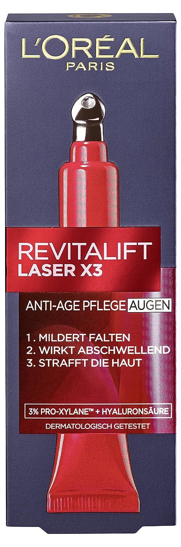 L'Oreal Paris Crema occhi Revitalift Laser X3Anti Aging, per la cura degli occhi, 15ml L' Oréal Paris A66793