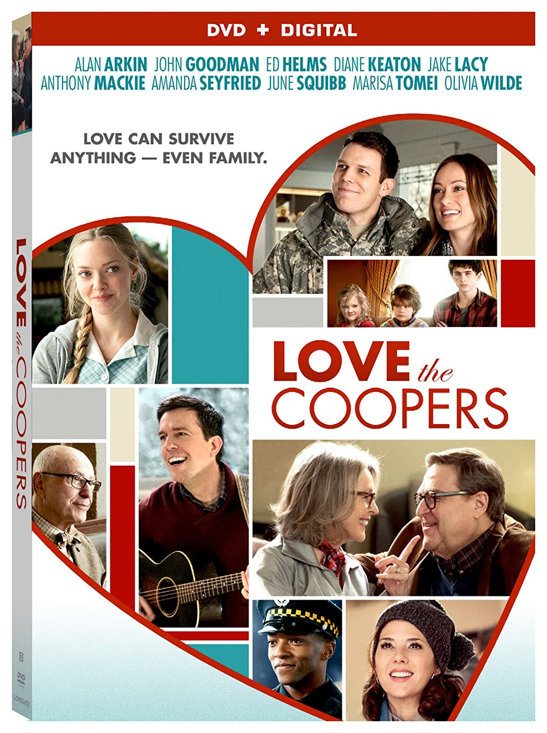 Amazon.com: Love The Coopers [DVD + Digital]: Alan Arkin, John ...