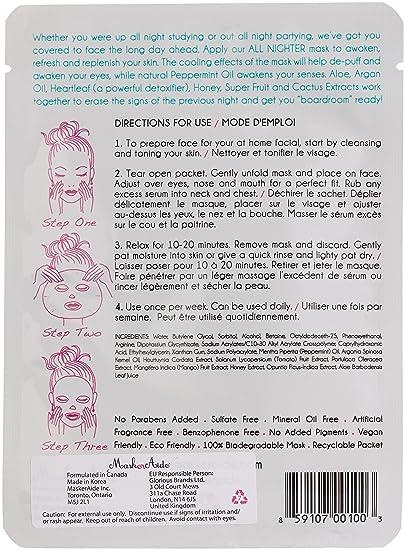 MaskerAide All Nighter Hydrating Sheet Mask 23 g