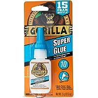 Gorilla Glue Super Glue Liquid, Fast-Setting, Versatile Cyanoacrylate Glue, Anti-Clog Cap, Flow Control Formula, Clear…
