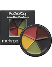 Mehron 764294545028 Makeup 5 Color Bruise Wheel for Special Effects| Movies| Halloween, Ivory