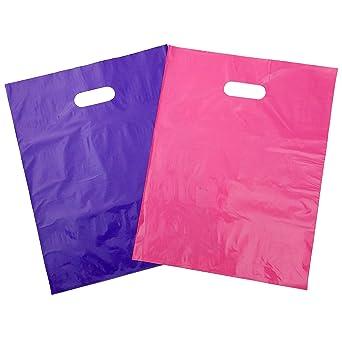 Amazon.com: Bolsos de compras con asas | bolsas de mercancía ...
