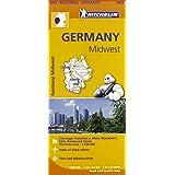 Germany Midwest Regional Map 543 (Michelin Regional Maps)