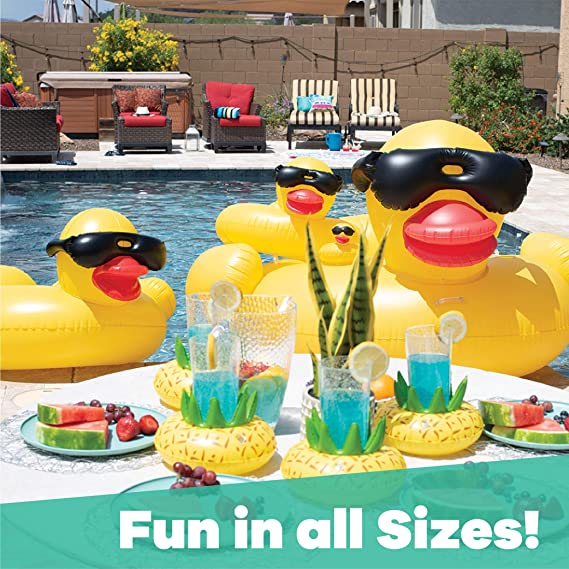 Amazon.com: Giant Derby - Flotador hinchable para piscina, L ...