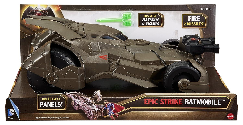 Dawn of Justice Epic Strike Batmobile Vehicle Mattel DHY29 Batman v Superman